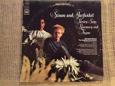 Simon & Garfunkel Parsley, Sage, Rosemary And Thyme 1966 Columbia CS9363 Stereo