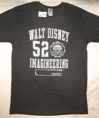WDI Disney Imagineering 52 Graphics T Shirt • New with Tag