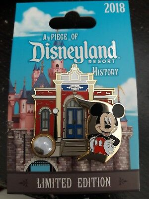 Disney pin A Piece of Disneyland History Guided Tours LE 1500 Made WILL SELL OUT