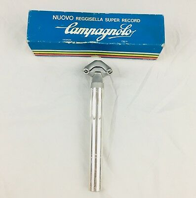 Campagnolo Nuovo Super Record Seatpost Fluted 25.0 X 220mm Vintage NOS Campy