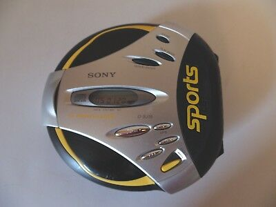Sony D-SJ15 Portable Sports CD Player G Protection Sports Black/Yellow