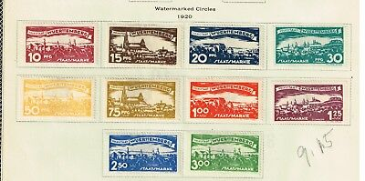 GERMANY Wurttemberg Stamp COLLECTION LOT  -2