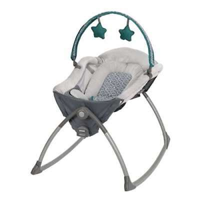Graco Little Lounger Baby/Infant Rocker Sleeper – Ardmore | 1875063 (Open Box)