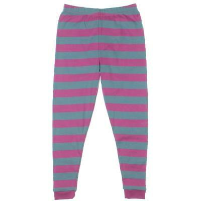 Leveret Pink Toddler Striped Pull On Casual Pants 5 Years BHFO 7716