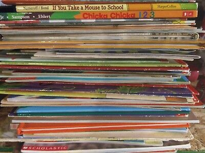 Childrens Picture Books 69 Lot Complete School Year/Seasons