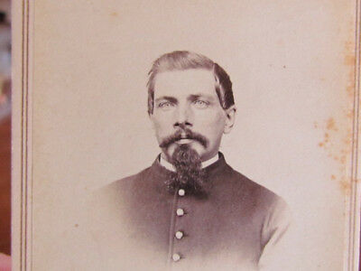 Manchester New Hampshire Civil War soldier & wife cdv photographs