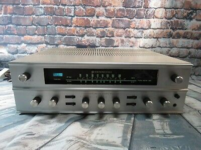 Vintage Kenwood KW-55A Tube Stereo Receiver  - AS IS / Not 100%