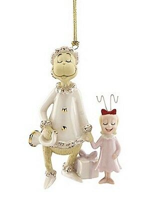 Lenox Grinch's Very Merry Sound Ornament New