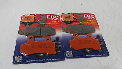 EBC Brakes EBPCK2012 Front Semi-Sintered V-Pads Brake Pad Change Kit