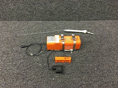 E-04 ACK Teck Emergency Locator Transmitter W/ Tray, Antenna, Switch, & Horn