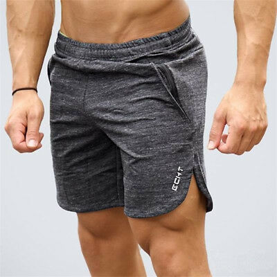 AU STOCK Mens Sport Running Breathable Cotton Shorts Fitness GYM Short Pants 4XL