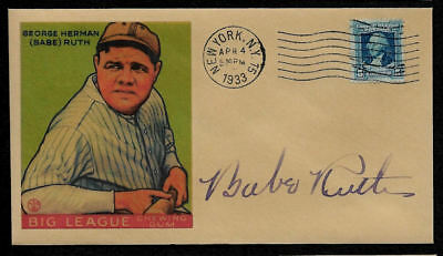 Babe Ruth Rookie Featured on Limited Edition Collector's Envelope *OP396