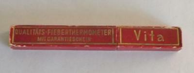 Vintage Vita Fever Thermometer IOB Made in Germany