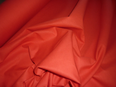 Cot Fitted Sheet - Bright Red 100% cotton - suit 1310 x 750  Tasman Eco