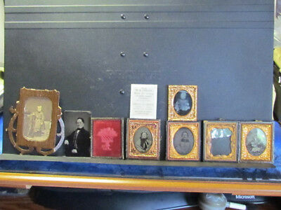 Hannah Holland of Taunton Massachusetts ambrotype's and other family photo's