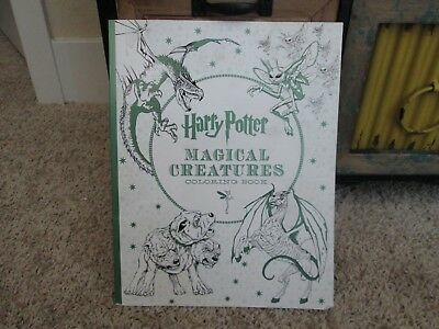 Harry Potter: Harry Potter - Magical Creatures Coloring Book 2016 NEW