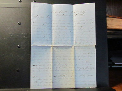 1862 New York CIty & Coney Island letter of 4th of July parade & ironclad battle