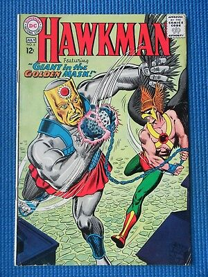 Hawkman # 8 - (Fine) - Giant In The Golden Mask
