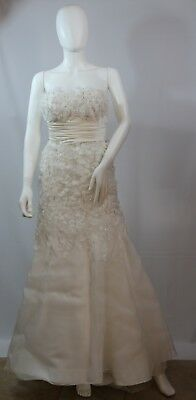 Lian Carlo Wedding Dress Size 2