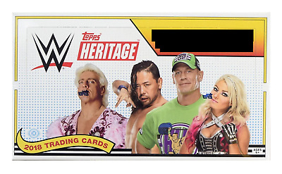 2018 Topps Heritage WWE Bronze Base Singles & Insert Parallels