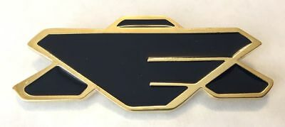 """Babylon 5 TV Series Earth Alliance Full Size 3"""" Wide Chest Insignia Metal Pin"""