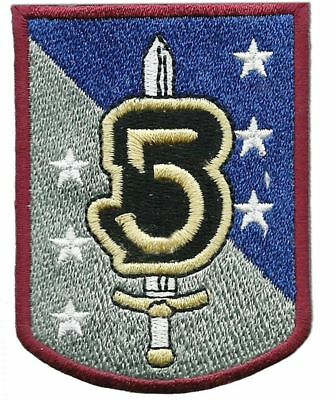"Babylon 5 TV Series Army of Light Sword & Shield  2 1/2"" Tall Embroidered Patch"