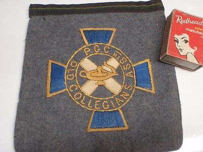 Old Collegians   Pocket  Patch