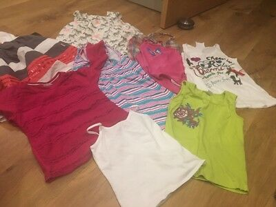 girls Approx Age 7 clothes bundles Dress Tops Vests Jeans Swimming Cozy