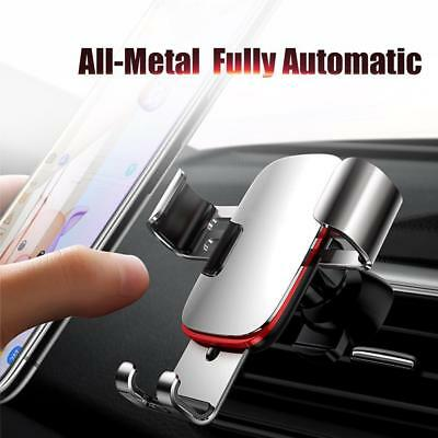 Universal Car Gravity Air Vent Phone Holder Mount Cradle For iPhone Samsung