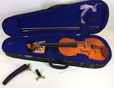 Stentor Student 1/2 Size mv-008 Violin Outfit with Case & Bow, extra strings