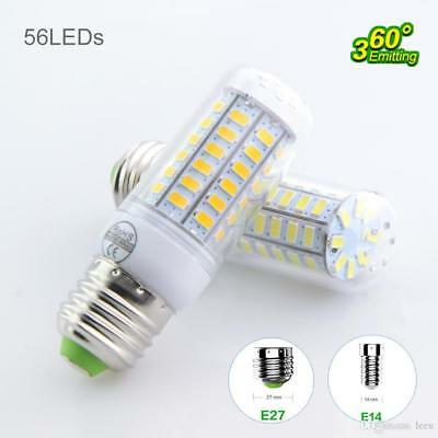 18W E27 LED Corn Light Bulb 5730 SMD 56Leds 650lm Bulb Lamp 110V 220V Lights