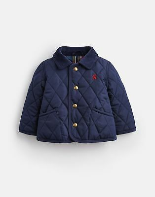 Joules 124961 Quilted Jacket in FRENCH NAVY