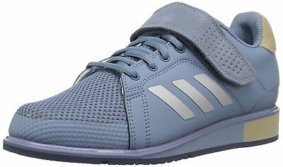 7294fe08433 MENS ADIDAS POWER Perfect III Black Weight Lifting Athletic Shoe ...