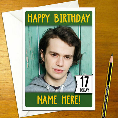 Coronation Street Seb Personalised Birthday Card Tyrone Dobbs