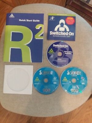 Switched On Schoolhouse Science 9th Grade Set CD's Installation Disk Homeschool