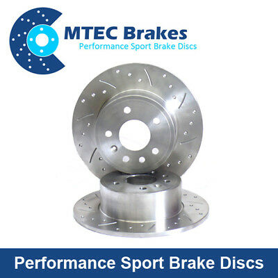 Front Brake Discs 234mm Compatible With Nissan Micra K11 1.0 1.3 1.4 1993-2003