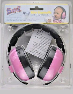 Baby Banz  Earmuffs Hearing Protection Ages 0-2 Years Best For Babies