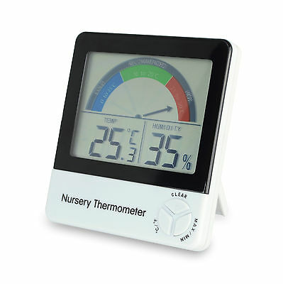 Nursery Thermometer / Monitor indicate Baby / Babies / Children Room Temperature