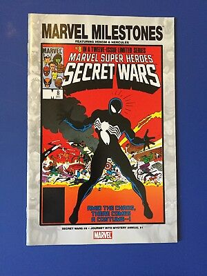 Marvel Milestones SECRET WARS #8 1st Black Costume Spider-Man! NM/MINT