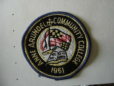 AnneArundel Community College Patch Maryland