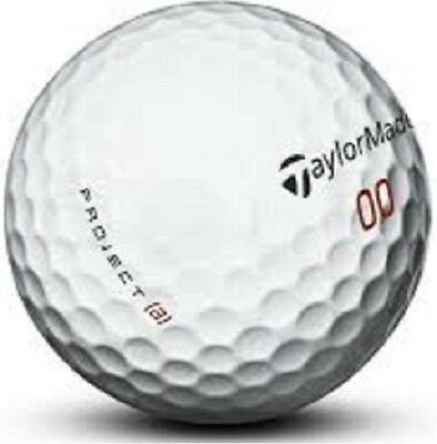 50 Taylormade Project A Near Mint Used Golf Balls AAAA 4(A)