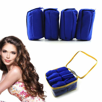 "Lady Sleep Styler For Long Hair NIP 12 Rollers Curlers 3"" As seen on Shark Tank"