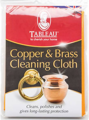 Tableau Copper and Brass Cleaning Polishing Cloth