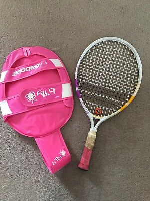 Girl's Babolat Tennis Racket With Case