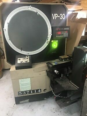 "14"" VPMS (Vermont Precision Machine Services) VP-30 Optical Comparator"