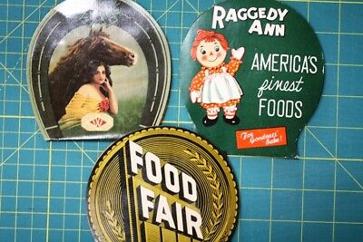 Needle Cards Needles Advertising Sewing Food Fair +