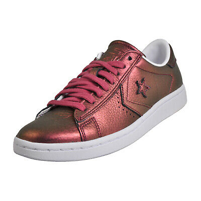 Converse Star Player All Star Women s Pro Leather LP Ox Low Vintage Plimsol  Trai 02937622f