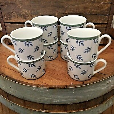LOT of 8 CUPS Villeroy & Boch SWITCH 3 for Costa/Castell/Cordoba Breakfast Cup