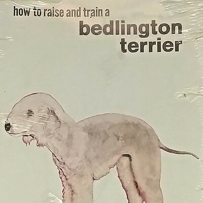 Vintage 1966 TFH Dog Book - How to Raise and Train a Bedlington Terrier - Sealed