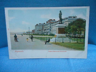 Vintage Post Card Plymouth